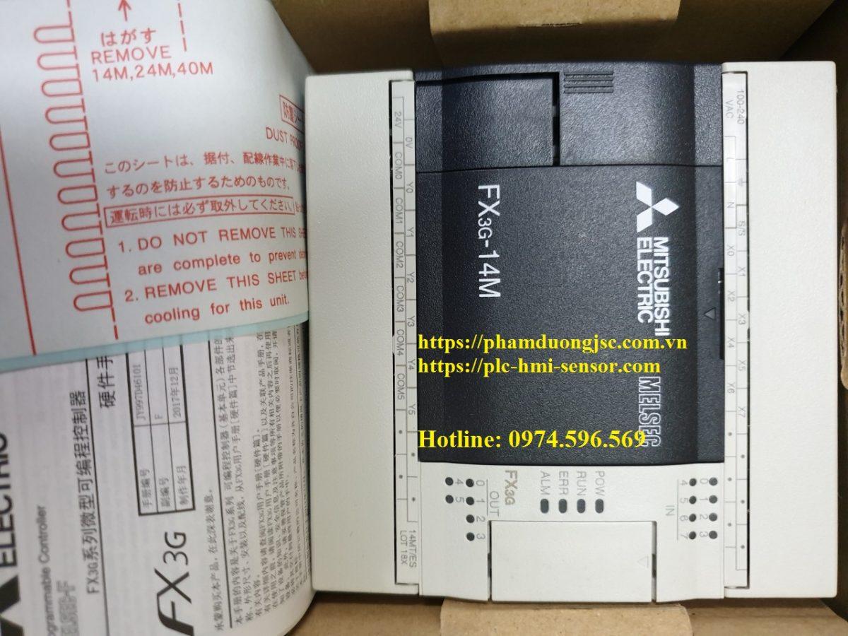 1PLC FX3G-14MT/ES-A