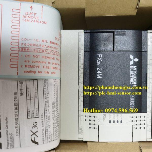 1PLC FX3G-24MR/ES-A