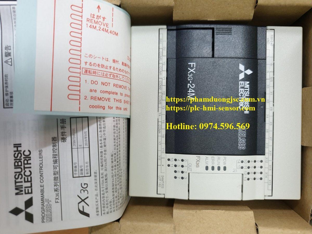 1PLC FX3G-24MT/ES-A
