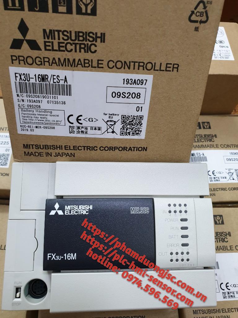 FX3U-16MR/ES-A PLC MITSUBISHI