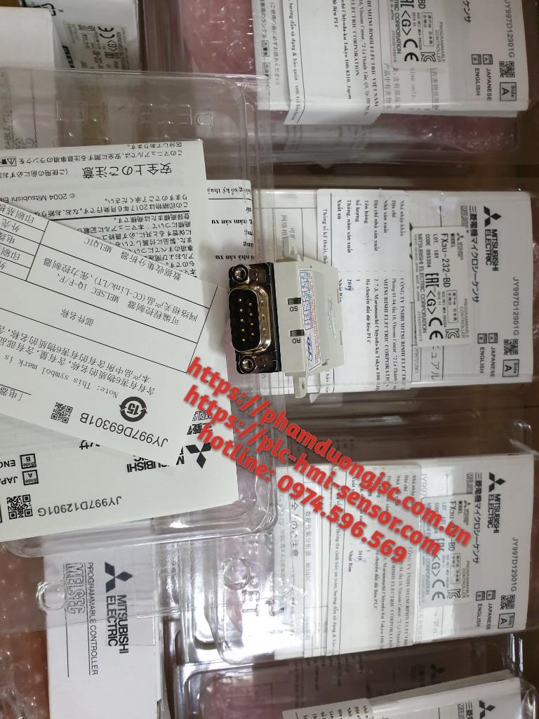 FX3U-232-BD MÔ ĐUN TRUYỀN THÔNG PLC MITSUBISHI FX3U VỚI MÁY TÍNH