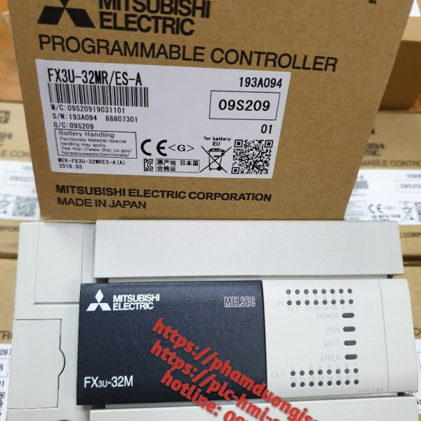FX3U-32MR PLC MITSUBISHI