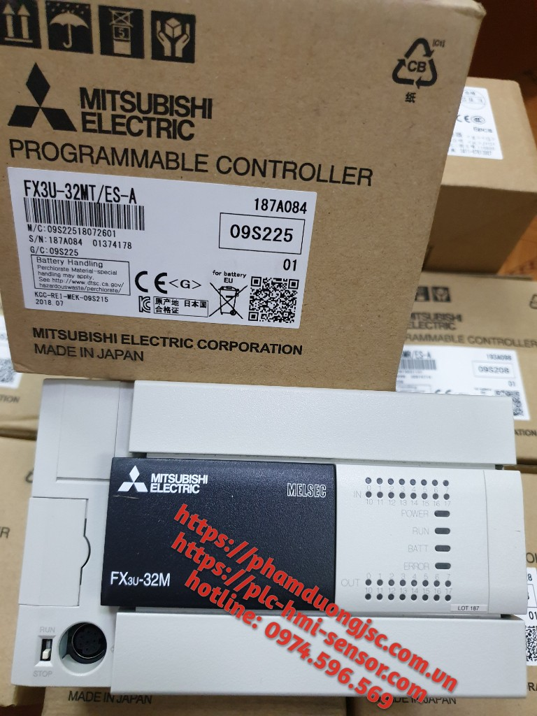 FX3U-32MT PLC MITSUBISHI