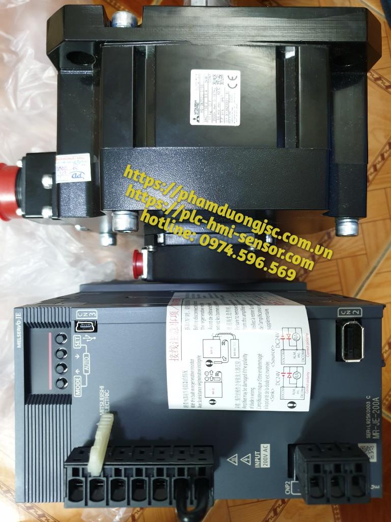 MR-JE-200A + HG-SN202J-S100 SERVO 2KW