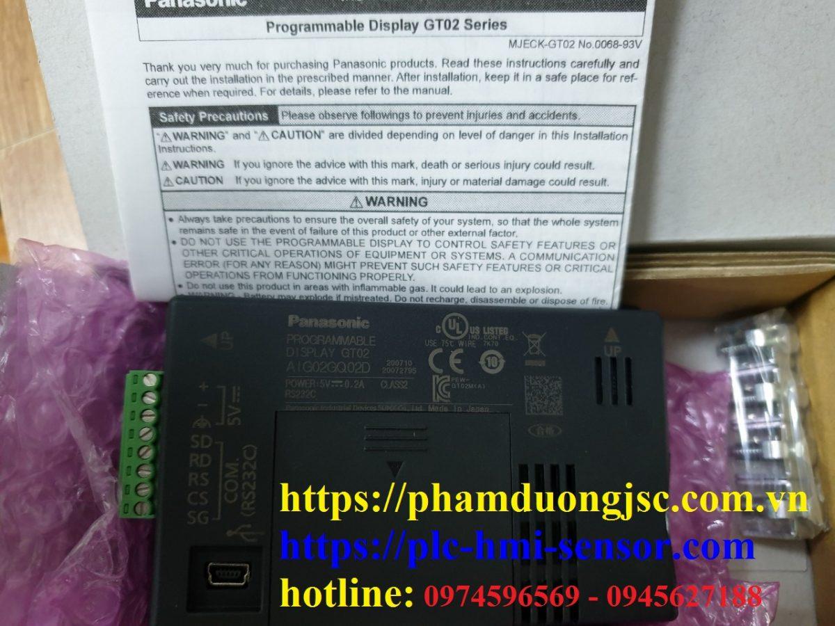 PANASONIC GT02 AIG02GQ02D